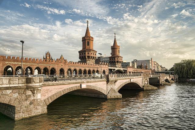Puente Oberbaumbrücke